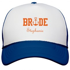 Nautical Bride Trucker Hat