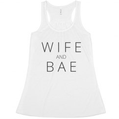 Wife and Bae Trendy Tank