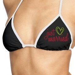Just Married Bikini