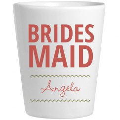 Custom Bridesmaid Shots