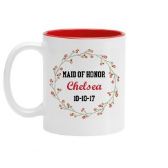 Maid of Honor Proposal Mug