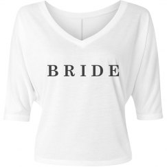 Simple Bride Engagement Gift Tee