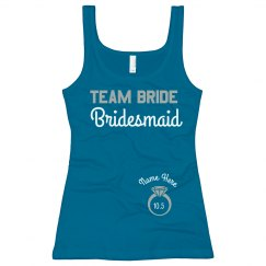 Team Bride Blue