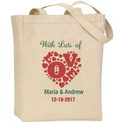 Wedding Thanks Tote Bag