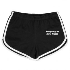 Slim Fit American Apparel Running Shorts