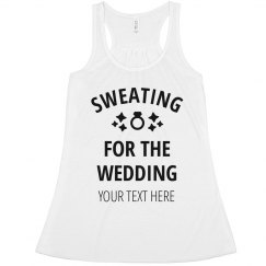 Cute Sweating For The Wedding