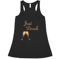 Drunk bridesmaid tank top