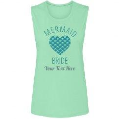 Mermaid Scale Heart Bride