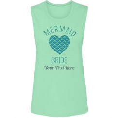 Mermaid Scale Heart Bride