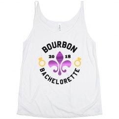 Bourbon Bachelorette Mardi Gras
