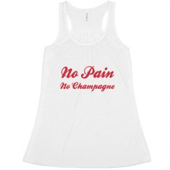 No Pain No Champagne Tank Top