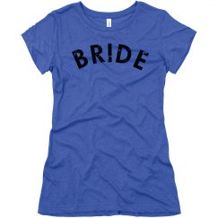 Bride To Be Distressed Tee