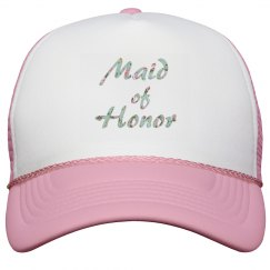 Maid of Honor Baseball Hat
