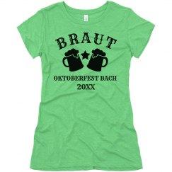 Braut Oktoberfest Bachelorette