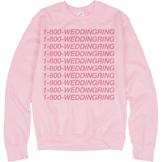 1-800-Wedding Ring Bride