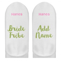 Custom Name Bride Tribe Gift