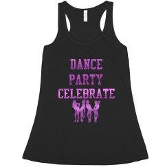 Dance Party Celebrate Fuschia