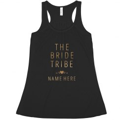 The Bride Tribe Gold Metallic
