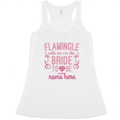 Custom Flamingle With This Bride