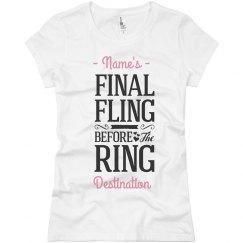 Final Fling Ring Tee