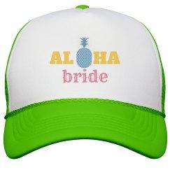 Aloha Bride Trucker Hat