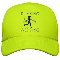 Running for my Wedding Trucker Hat