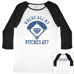 Create Your Own Baseball Bach Tee