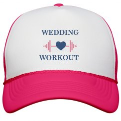 Wedding Workout Trucker Hat