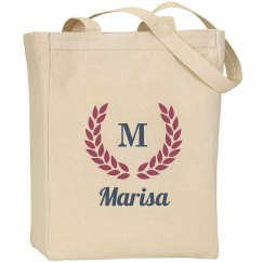 Monogram Bride Wedding Bag