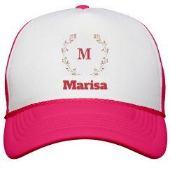 Monogram Bride Trucker Hat