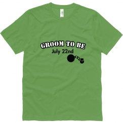 Groom To Be Tee