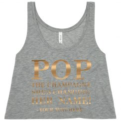 Pop Champagne Changing Bachelorette