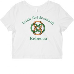 Irish Bridesmaid Tank Top