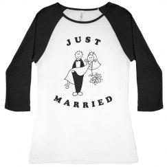 Just Married Tee