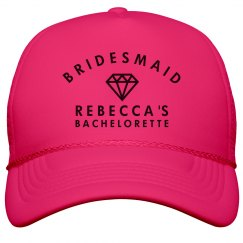 Bridesmaid Neon Hat