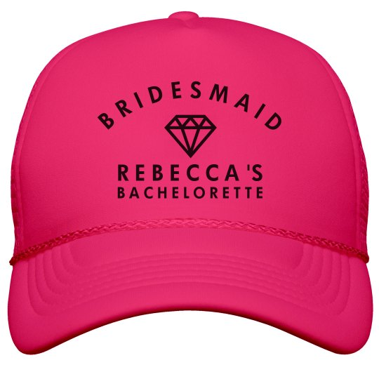 e0c5ceacf20 Bridesmaid Neon Hat Neon Snapback Trucker Hat