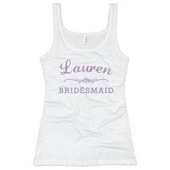Bridesmaid Scroll Logo