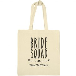 Trendy Bride Squad Heart Bag
