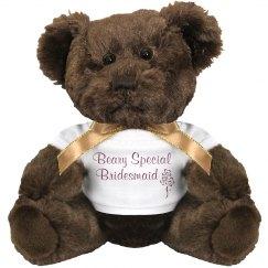 Beary Special Bridesmaid