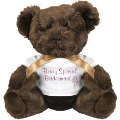 Beary Special Bridesmaid