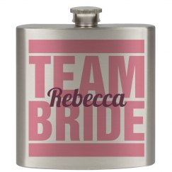 Team Bride Flask Girls 3