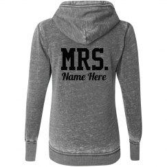 Custom Mrs. Last Name Newlywed