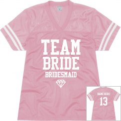 Team Bride Jersey w/Back