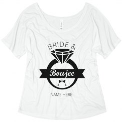 Custom Bride and Boujee