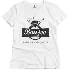 Custom Bach and Boujee Tee