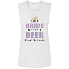 Bride Needs A Beer