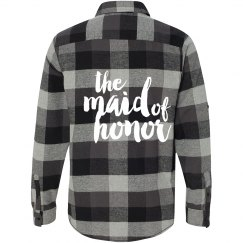 Maid of Honor Flannel Shirt