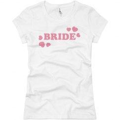 Team Bride Heart Tee