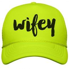 Wifey Neon Hat