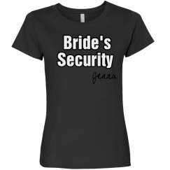 Bride's Security Tee